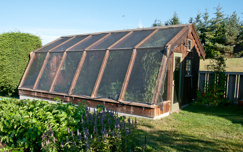 Greenhouses Lopez Island Kitchen Gardens
