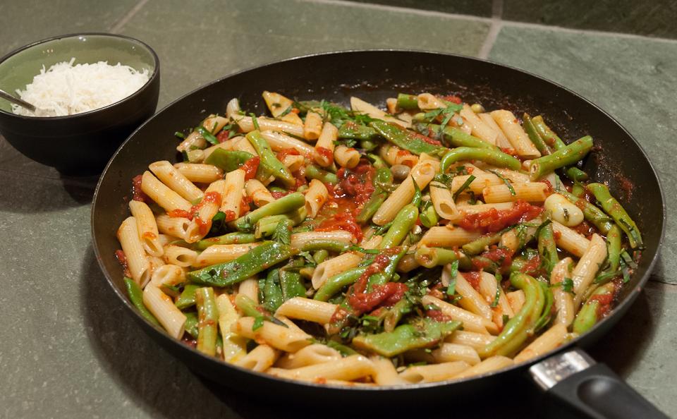 Beans pasta
