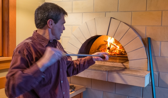 Pizza oven & Scott