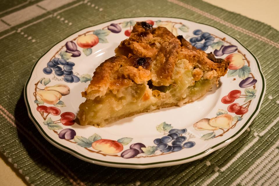 Rhubarb Pie | Lopez Island Kitchen Gardens