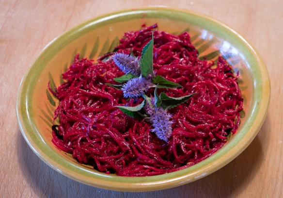 Beets red anise