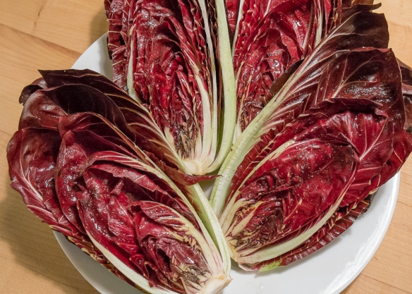 Radicchio marinated