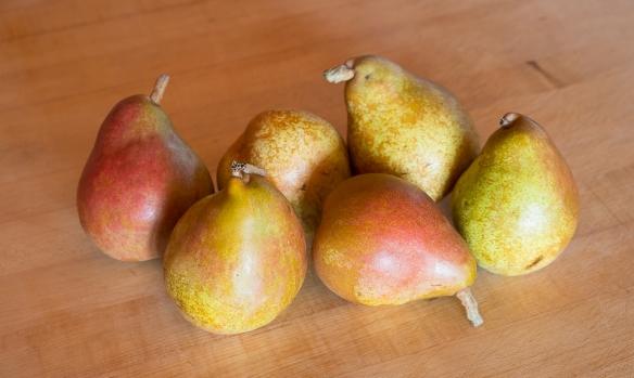 Pears comice