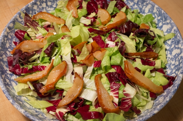 Sugarloaf pear salad