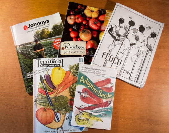 Seed catalogs 2015