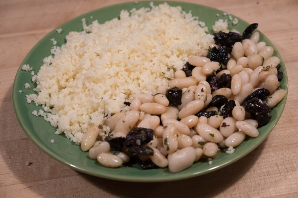 Beans and couscous