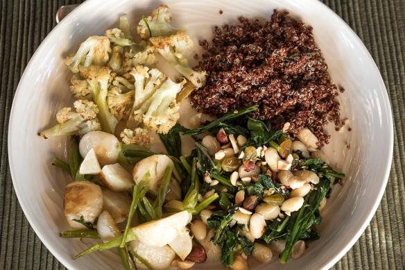 spring turnip dinner