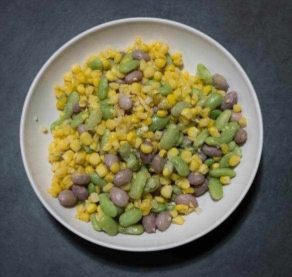 Succotash bowl