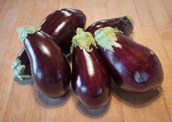 Eggplant counter