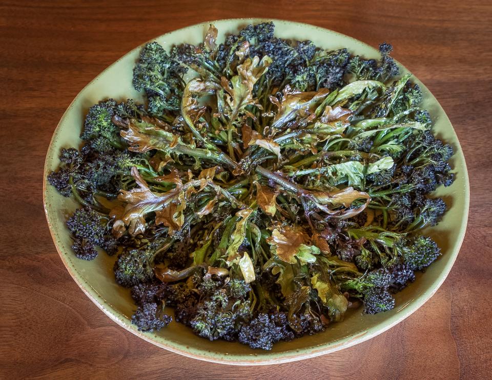Broccoli PSB roasted