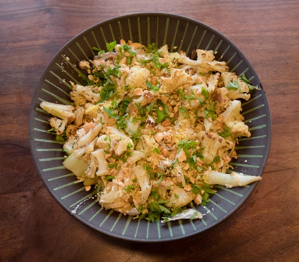 Cauliflower ATYR pasta in bowl