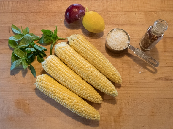 Corn pasta ingredients
