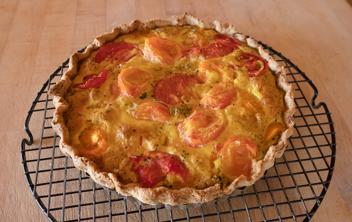tomato tart heirloom